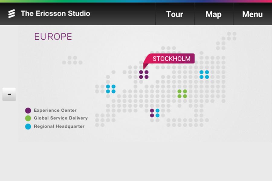 <span>Ericsson showrooms</span><i>→</i>